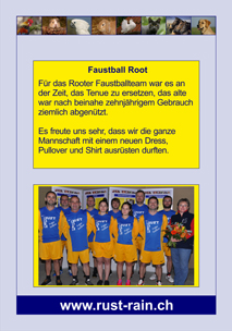 Faustball Root